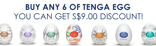 Tenga Egg promotion