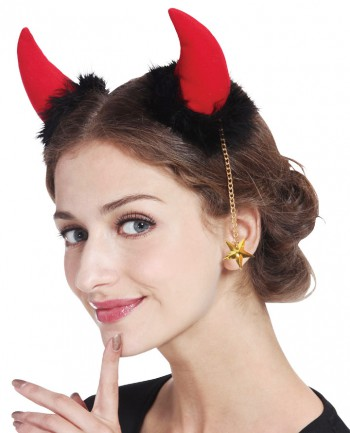 Devil Girl Hair Pin