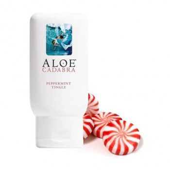 Aloe Cadabra Organic Lubricant - Peppermint Tingle (71g)