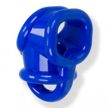 OXBALLS - Ballsling Ball Split Sling Cock Ring (Police Blue)