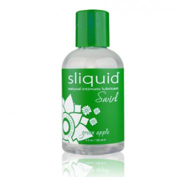 Sliquid Natural Swirl - Green Apple (125ml) Water-based