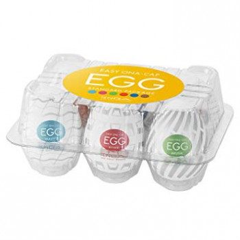 Good Value! - Tenga EGG 6-Pack (10th Anniversary New Standard)