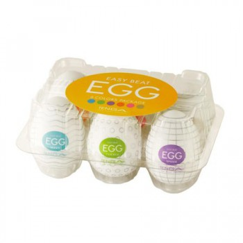 Tenga EGG 6-Pack (Regular Strength)