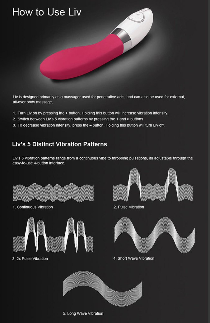 lelo liv 2 how to use