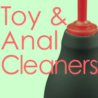 toy and anal cleaner category